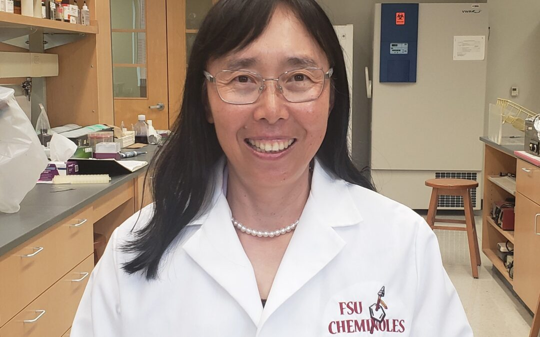 "Faculty Spotlight: Qing-Xiang ""Amy"" Sang, Professor of Biochemistry"