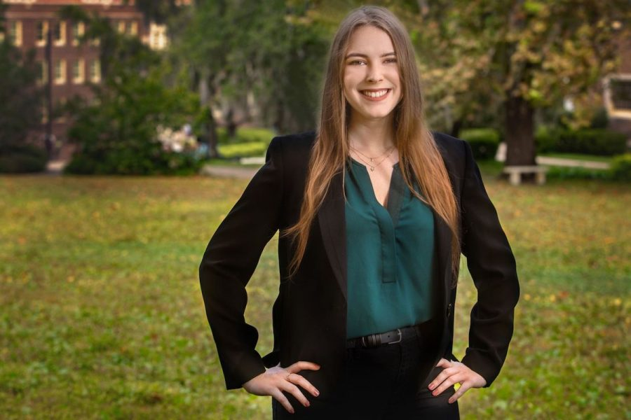 Chemistry Major Diana Conrad is Highlighted as an FSU Student Star