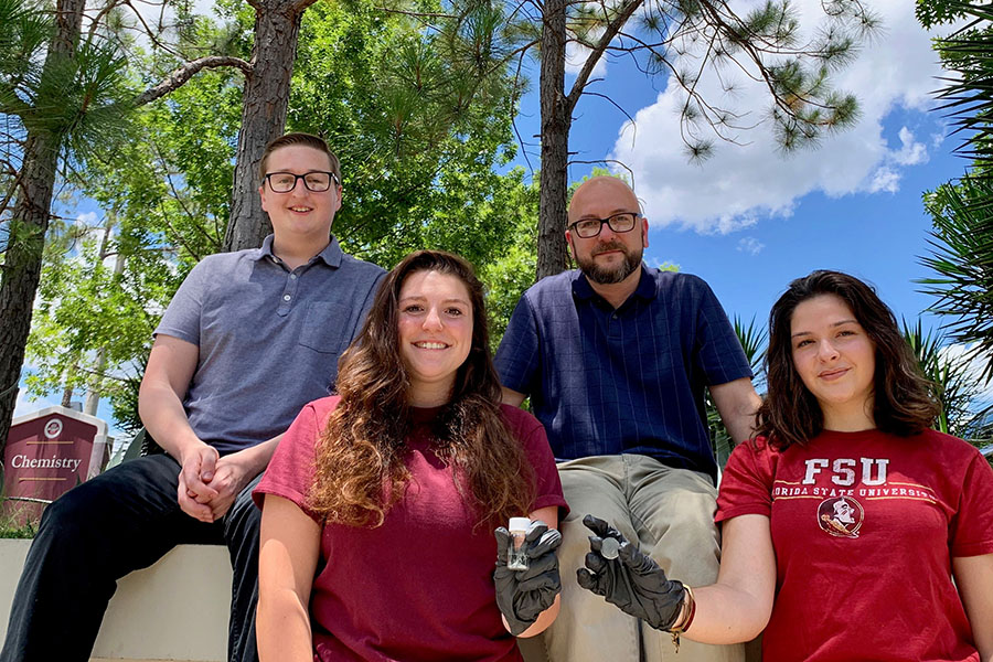 FSU researchers discover pine sap-based plastic, a potential change for future of sustainable materials